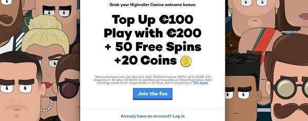 Get free bonus on deposit!