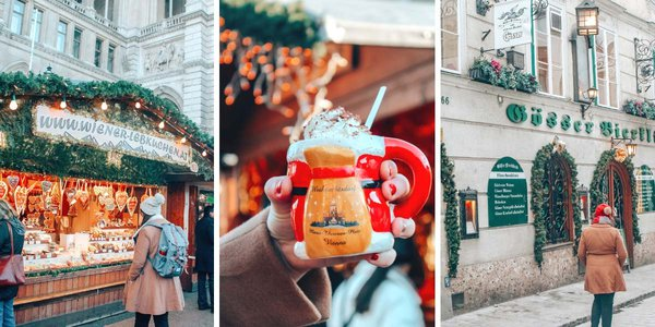 Celebrate Christmas in Vienna this year! Here are the best things to do in Vienna in the winter.