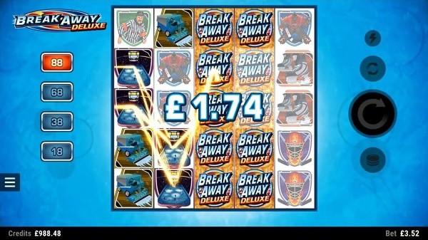 Break Away Deluxe online slot review - Microgaming Casino