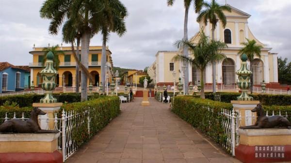 Główny plac w Trinidad (Plaza Mayor) - Kuba