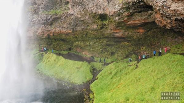 Wodospad Seljalandsfoss - Islandia
