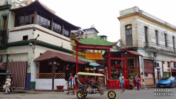 China Town w Hawanie - Kuba