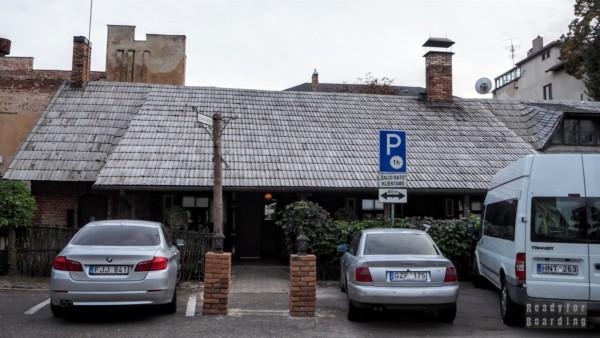 Ukryta restauracja w Kownie
