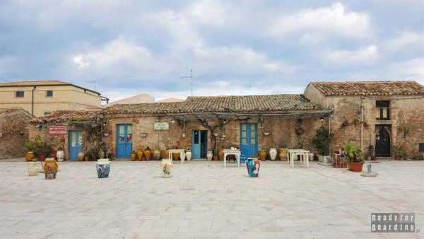 Piazza Regina Margherita, Marzamemi - Sycylia