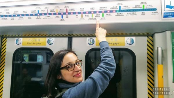 Dojazd do ZOO w Pekinie, Chiny