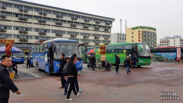 Dojazd do Armii Terakotowej, Xi'an, Chiny