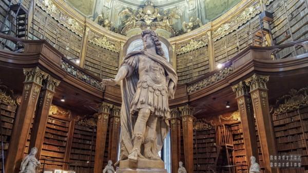 State Hall, Biblioteka Narodowa, Wiedeń - Austria