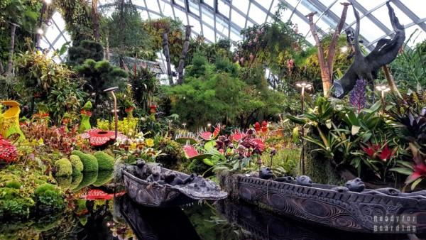 Zaginiony Świat w Cloud Forest, Gardens by the Bay - Singapur