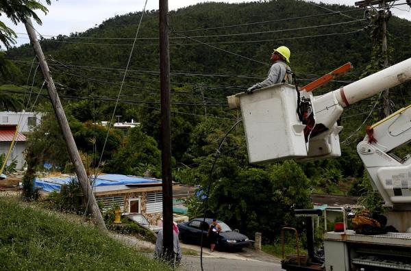 Tormenta Isaías Tendido eléctrico Puerto Rico