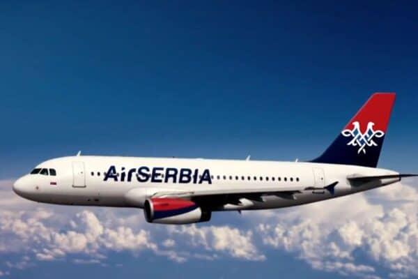 Москва-Белград Air Serbia