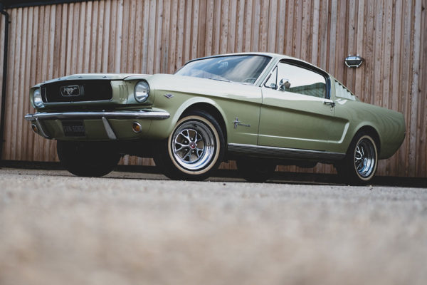 Classic Car Storage - Ford Mustang