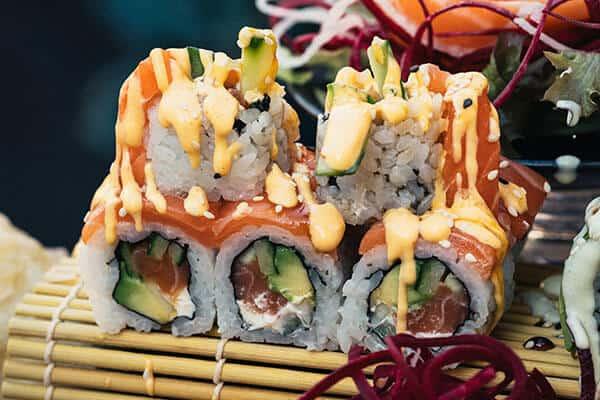 Bestes Sushi Leipzig Inside Out Rolls
