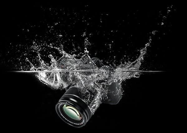 Camera lost in water