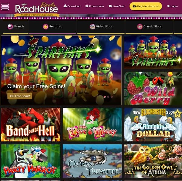 Road House Reels Casino Review