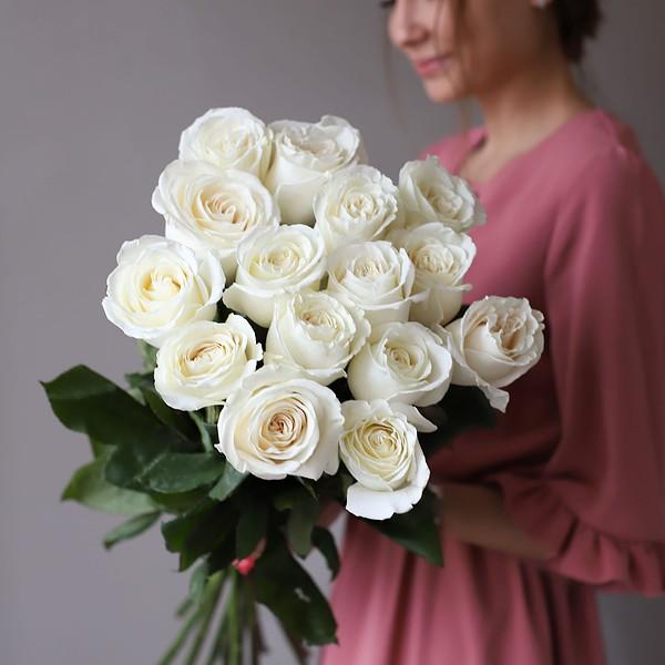 Монобукет из 15 роз (Эквадор) №1049 - Фото 3
