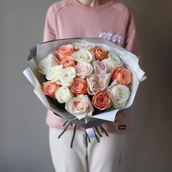 Монобукет из роз №895 - Фото 1