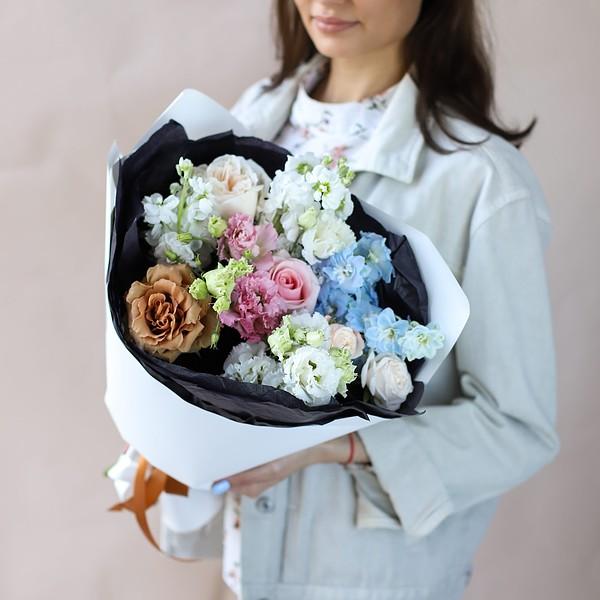 Сборный букет с винтажной розой №848 - Фото 4