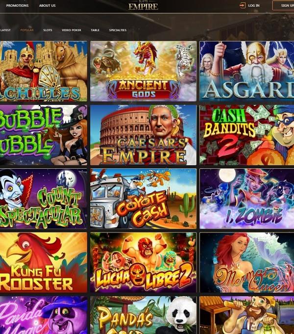 SlotsEmpire Casino Review