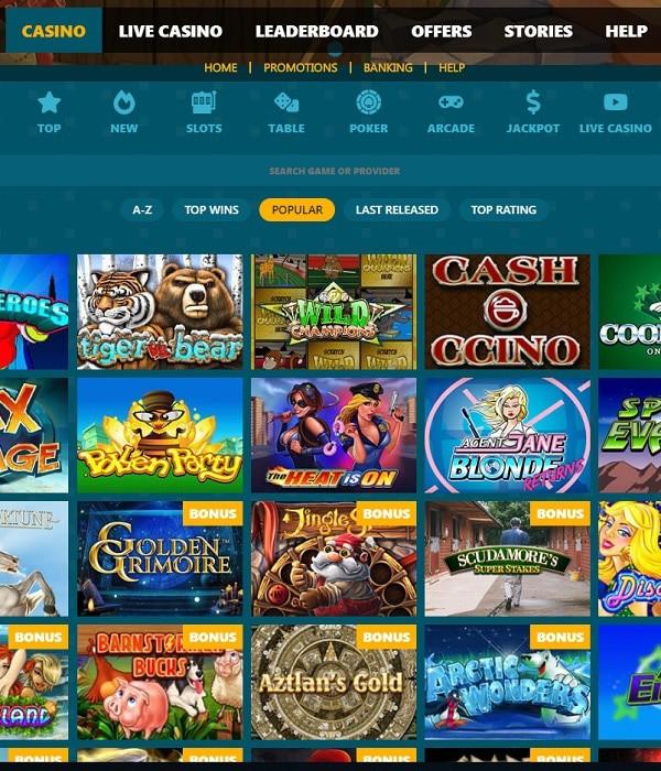 Spinaru Casino review