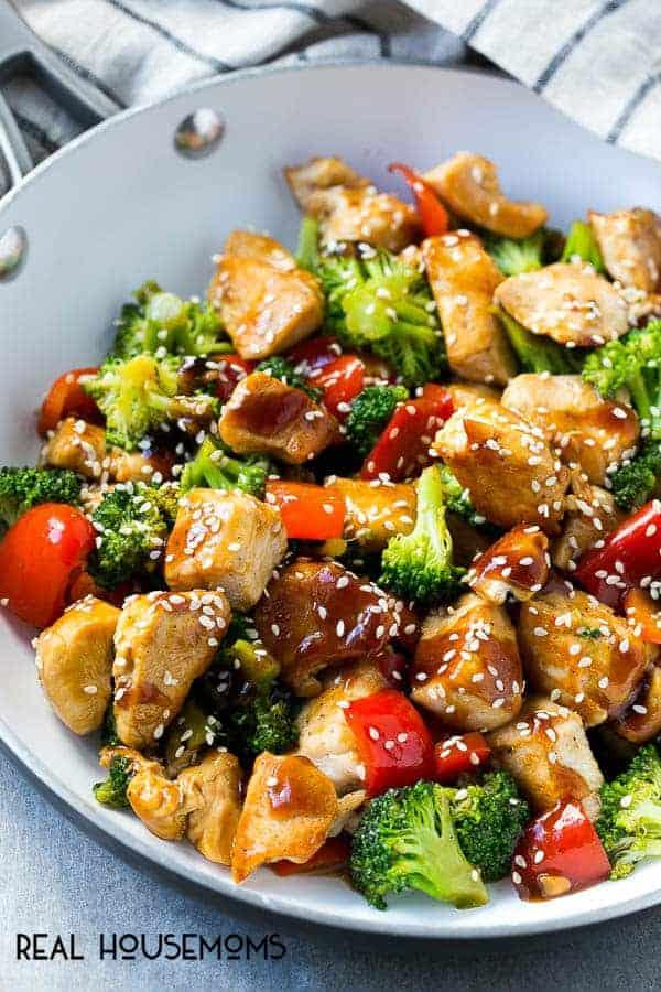 Teriyaki Chicken with Vegetables Healthy Dinner Recipes