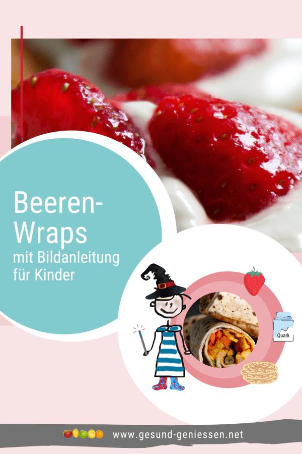 Pin Rezept Beeren-Wraps