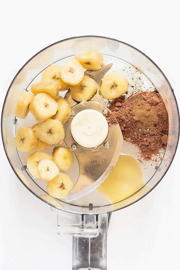 Chocolate Banana Ice Cream Ingredients