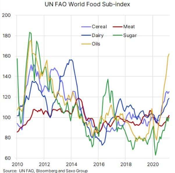 Alimentación - Inflación 2021 - 4