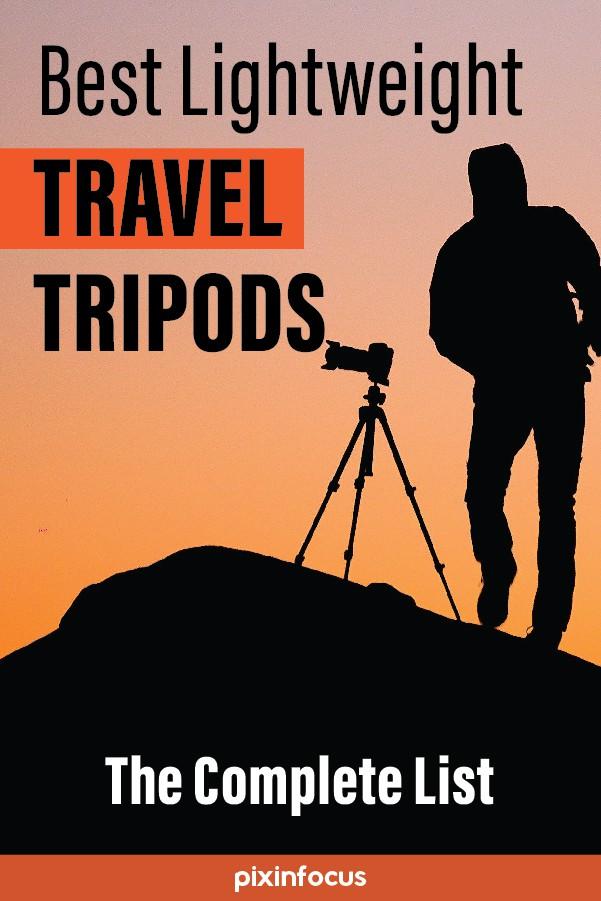 Pinterest Pin Best Travel Tripod