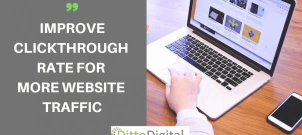 Improve click through rate CTR