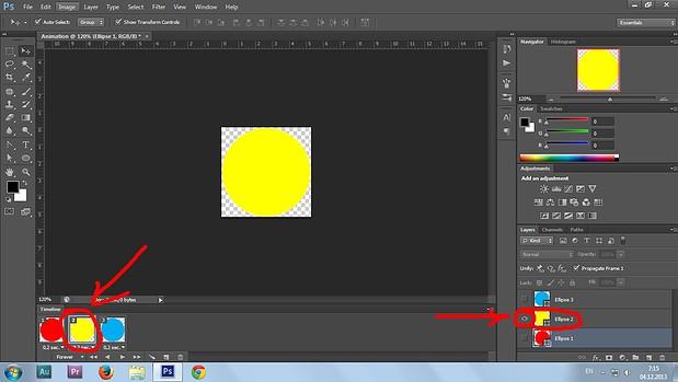 11. Gif animation in Photoshop CS6 tutorial