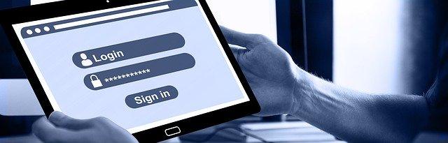 Registratieformulier, gebruikersnaam en wachtwoord