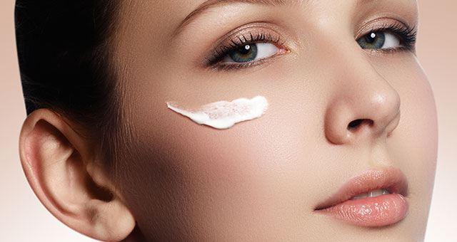 Apply Eye Cream With Care