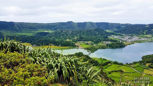 Jezioro Niebieskie i Zielone, Azory