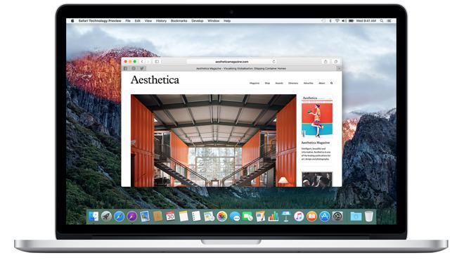 Safari 10 is de meest recente versie van de browser voor Apple Mac