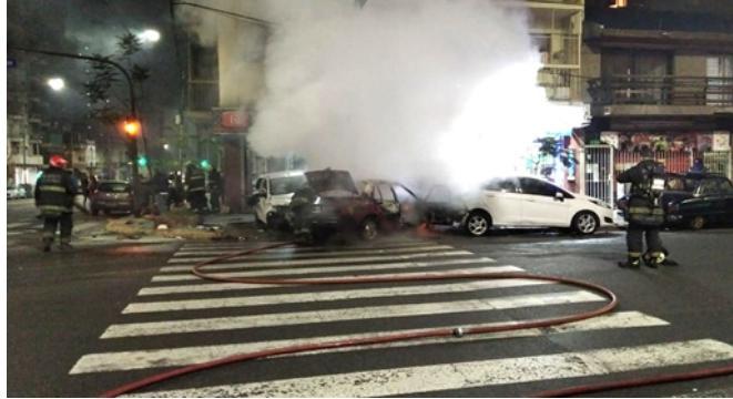 Dominicana mueren en accidente de tránsito en un barrio porteño de Buenos Aires