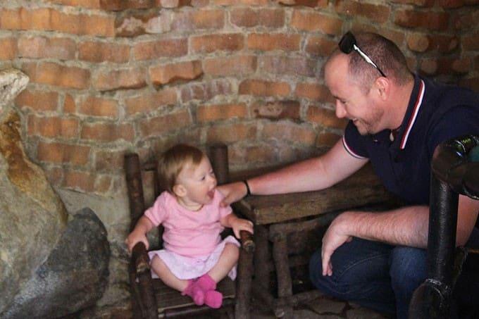 Konrad with Olivia