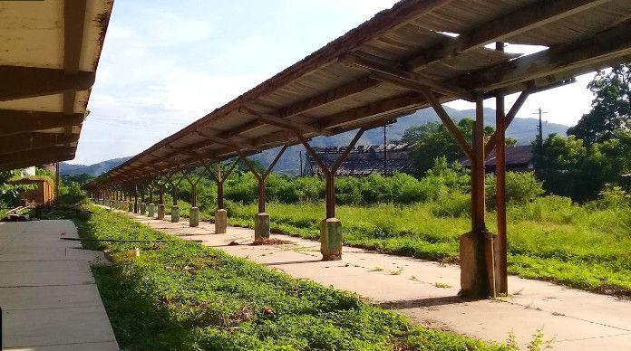 Antigua Estación del Ferrocarril en Zacapa