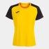 Koszulka sportowa damska Joma Academy IV żółto czarna 901335.901