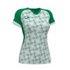 Koszulka sportowa damska Joma Supernova biało zielona 901431.452