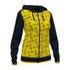 Bluza z kapturem damska JOMA Supernova żółto czarna 901430.109