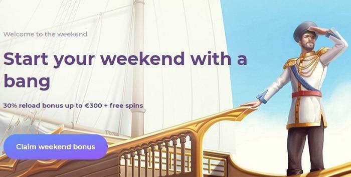 Tsars Weekend Bonus
