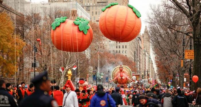 The thanksgiving parade in nyc