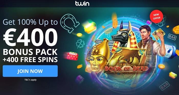 Twin Free Spins Bonus
