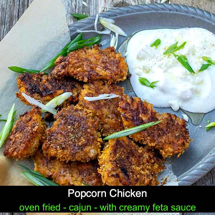 popcorn chicken, gluten free