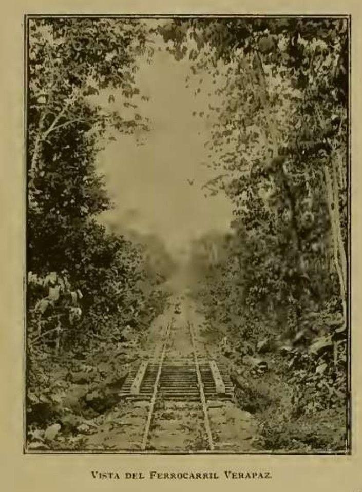 Línea del Ferrocarril de Verapaz (1897)