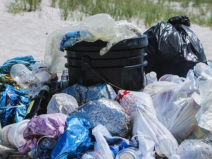 Ocean-Bound Plastic Beach Trash