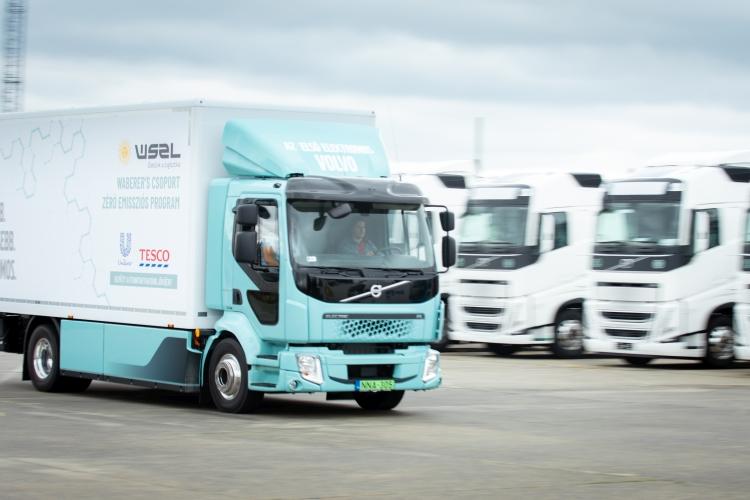 Volvo e-teherautó