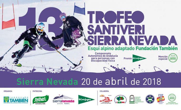 Cartel 13º Trofeo Santiveri Sierra Nevada