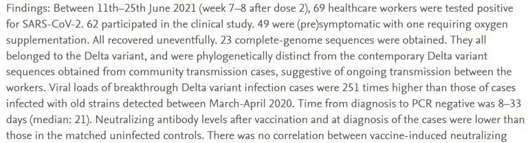Vacunas no funcionan - 2