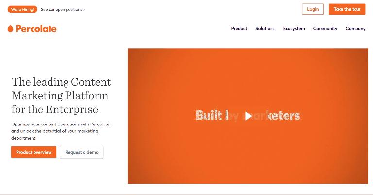 percolate Content Marketing Platforms